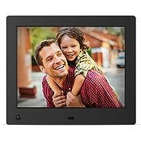 NIX Advance Marco Digital de Fotos y Videos 8 Pulgadas X08E. Portafotos Pantalla IPS Full HD. Portarretratos electrónico USB, SD/SDHC. Sensor de Movimiento.