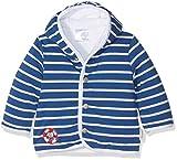 Sterntaler Kapuzen-Jacke Jersey Erwin für Babys, Alter: 3-4 Monate, Größe: 56, Blau