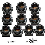 Quanmin M12 CCTV Lens Holder M12 CCTV Board Lens Mount MTV Mount Lens For CCTV Camera 10PCS/LOT+10PCS Screw