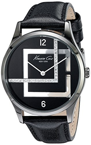 kenneth-cole-montre-kenneth-cole-cuir-femme-38-mm