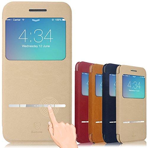 Aerb® iPhone 6 Plus Hülle, Flip Cover