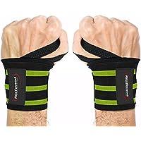 Rip Toned Handschützer 45,7cm Profi Handgelenkbandage mit Daumen, reggipolso Unisex für Gewichtheben, Crossfit, Workout für die Kraft und Stärkung von, eBook in Geschenk