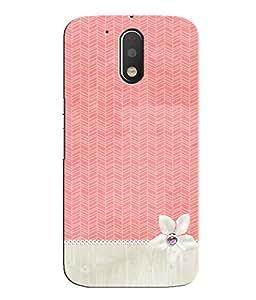 Citydreamz Cute Pink Design Hard Polycarbonate Designer Back Case Cover For Motorola Moto E3 Power