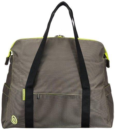 TIMBUK2 560-4-7074 - Borsa da viaggio Gateway, 24 litri, colore: Grigio/Verde limone Multicolore