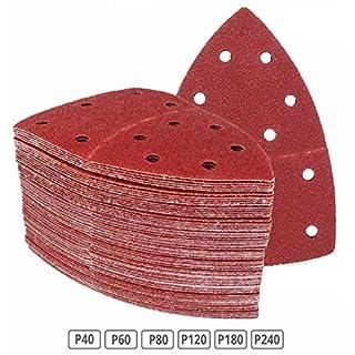 180 Stück Klett-Schleifblätter 105x152 mm Körnung je 30 x 40/60/80/120/180/240 für Multischleifer