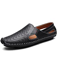 Botte Homme Casual Mocassins stretch antidérapantenoir taille42