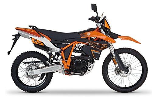 Kreidler ENDURO 125 Motorrad   DICE GS 125   8,4 KW 125 ccm 101 km/h 4-Takt