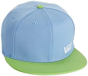 Vans Men's Splitz Baseball Cap, Blue (Pale Blue/Green), Large (Manufacturer Size:Large/X-Large)