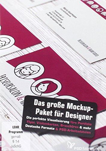 Das gro e mockup paket f r designer pc mac for Visitenkarten gratis vorlagen