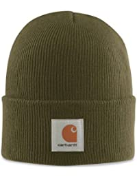 Carhartt A18 Watch Beanie Hat (army-grün)