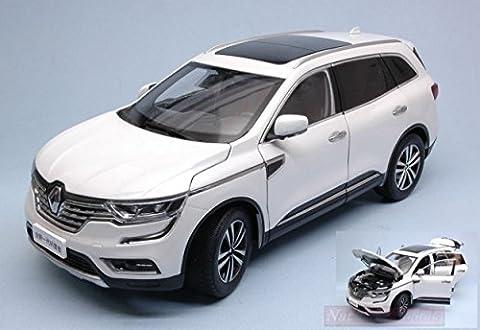 Renault 1 18 - PAUDI MODEL PD2383W RENAULT KOLEOS 2016 WHITE