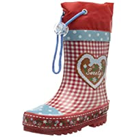 Playshoes Girls Wellies Country House Wellington Boots