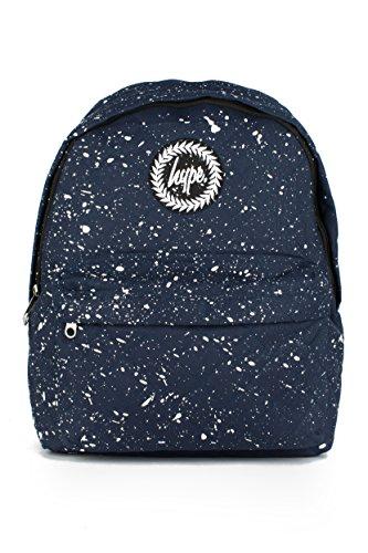 Hype Uomo Zaino Logo Speckle, Blu Navy Quilted White