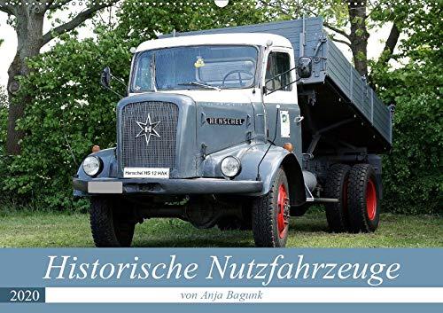 Historische Nutzfahrzeuge (Wandkalender 2020 DIN A2 quer): Eine tolle abwechslungsreiche Darbietung verschiedenster historischer Nutzfahrzeuge (Monatskalender, 14 Seiten ) (CALVENDO Mobilitaet)