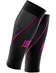 CEP - Calf Sleeves 2.0 Bas de compression Calf pour femmes (noir/rose) - II