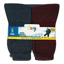 10 Pack Marl Boot Socks - Size 6-11