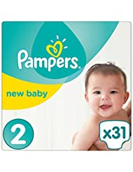 Pampers - New Baby - Couches Taille 2 (4-8 kg) - Pack Small (x31 couches)