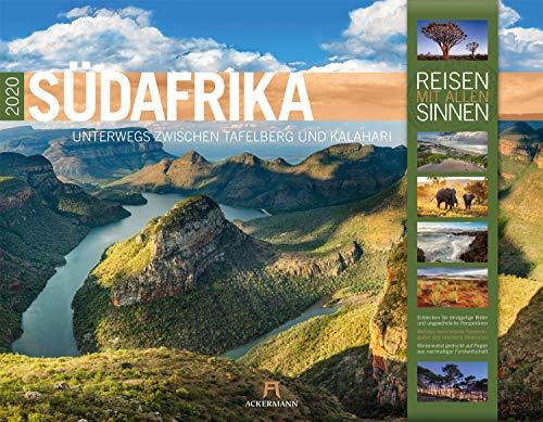Südafrika 2020, Wandkalender im Querformat (54x42 cm) - Natur- und Reisekalender mit Monatskalendarium (Reisen mit allen Sinnen)