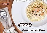 Food - Genuss aus der Küche (Wandkalender 2018 DIN A4 quer): Leckeres aus der Küche (Monatskalender, 14 Seiten ) (CALVENDO Lifestyle) [Kalender] [Apr 01, 2017] PapadoXX-Fotografie, k.A.