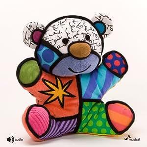 Britto Plush Mini Musical Festive Bear