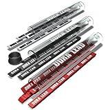 Striker Hand Tools 77599 Dura Lead-Plomb de Recharge Rouge pour le Striker Crayon Mécanique de Charpentier, Red Lead