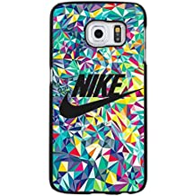Glass Background Design Logo Nike Phone caso Cover for Funda Samsung Galaxy S6 Edge Plus Just Do It Luxury Pattern