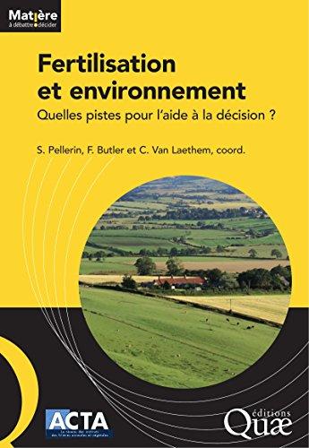Fertilisation et environnement: Quelles pistes pour l'aide à la décision ?