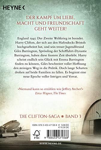 Erbe und Schicksal: Die Clifton Saga 3 - Roman