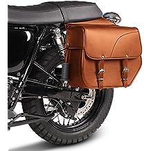 Alforjas Moto Custom Honda Shadow VT 750 C Craftride Kentucky 30l marrón