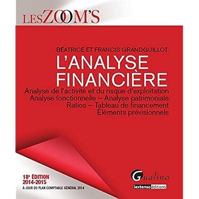 Zoom's - Analyse financière 2014-2015, 18ème Ed
