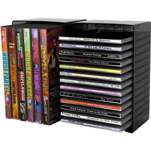 atlantic-disc-storage-module-fundas-para-discos-opticos-negro
