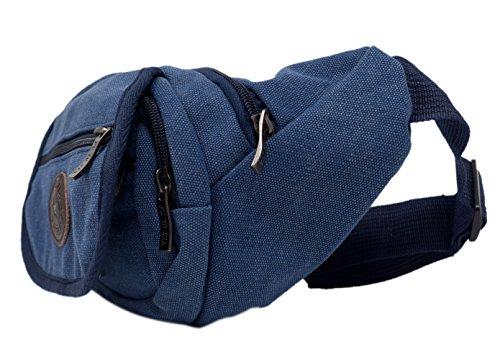 Riñonera, bolsa de cadera 5 bolsillos (Color 1)