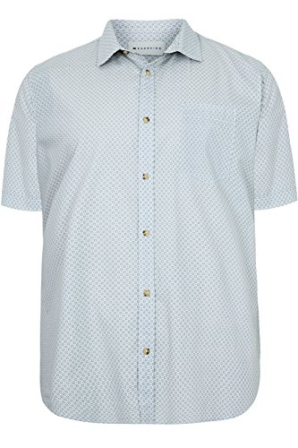 Yours Clothing - Chemise casual - Homme Blanc