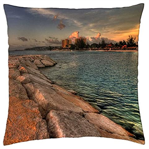 Lovely Jamaica - Throw Pillow Cover Case (18