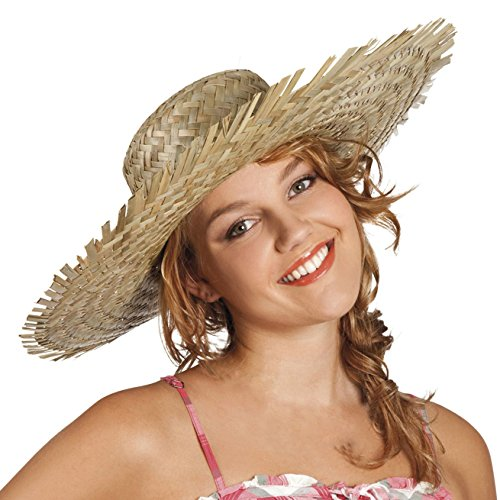 Adult-Hawaiian-straw-hat-gorro-sombrero