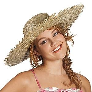 ADULTS Adult Hawaiian straw hat (gorro/sombrero)