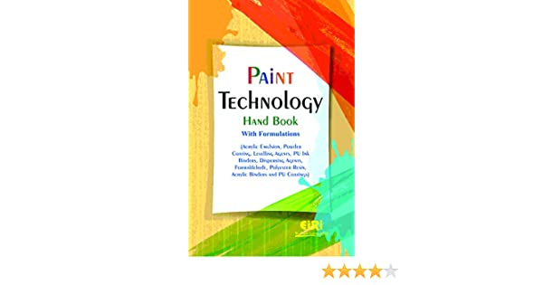 Buy Paint Technology Hand Book with Formulations (Acrylic Emulsion