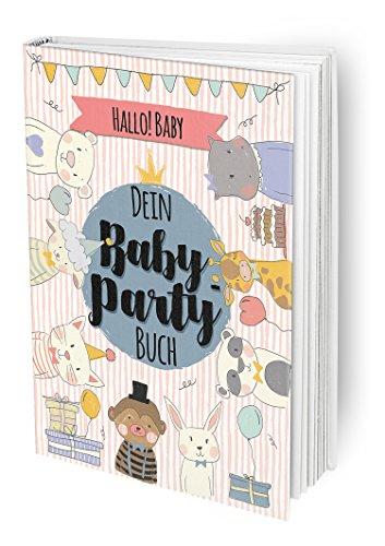 Hallo Baby - Das Baby-Party Buch für die beste Babyparty vor der Geburt mit allen Freundinnen der Mama und guten Wünschen, DIN A4 Buch mit Poster und (Cupcake Baby Kostüme)