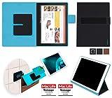 Étui pour Lenovo ThinkPad X1 Tablet (2017) de couleur Cuir noir - Boîtier innovateur 4 en 1 - Support mural anti-gravité, porte-tablette de voiture, support de table - Boîtier de protection murale et pour voiture nécessitant aucun outil ou colle - pour l?Lenovo ThinkPad X1 Tablet (2017)
