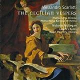 Alessandro Scarlatti - The Cecilian Vespers / Labelle · Rydén · Angel · Slattery · Davies · PBO · McGegan [SACD]