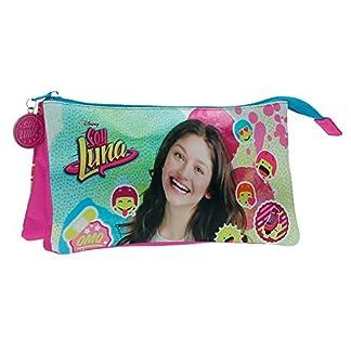 Disney Luna Icons Mochila Infantil, 1.32 litros, Color Rosa