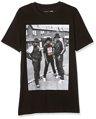 Mister Tee Herren Run Dmc Kings of Rock T-Shirts, Black, M - Run Shirt Fun