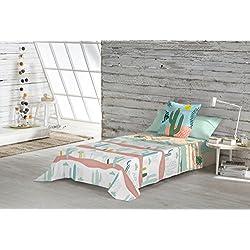 Iceberg juego de sábanas Cactis cama 105 cm