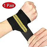 Handgelenk Bandagen von Vikaster-18 Professional Grade mit 2,5' Wrist Wraps Daumenschlaufen, Starke...