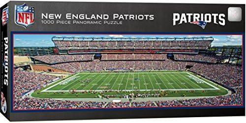MasterPieces Chefs-d' œuvre œuvre œuvre NFL Stadium panoramique Puzzle, Lot de 1000 | Approvisionnement Suffisant  056655