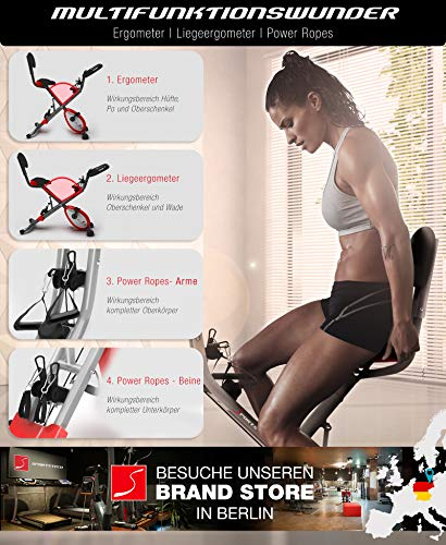 Sportstech X150 4in1 Heimtrainer mit Smartphone APP - 2
