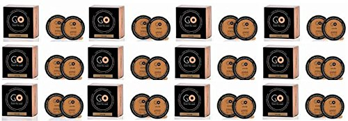 Millefiori Milano Recharge parfum santal Bergamote 12 boîtes de 2 Go pour parfum voiture à dosettes T-Discs