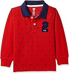 612 League Boys T-Shirt (ILW17I16004F_Red_3-4 Years)