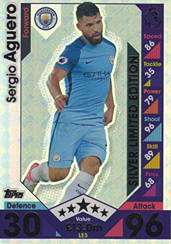 topps-match-attax-2016-2017-sergio-aguero-silver-limited-edition-16-17-trading-cards