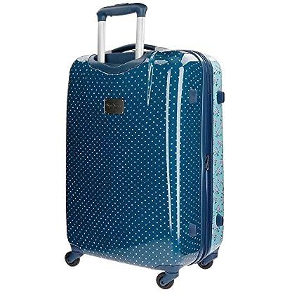 51cwLipdtNL. SS416  - Pepe Jeans Denise Maleta, 68 litros, 67 cm, Azul